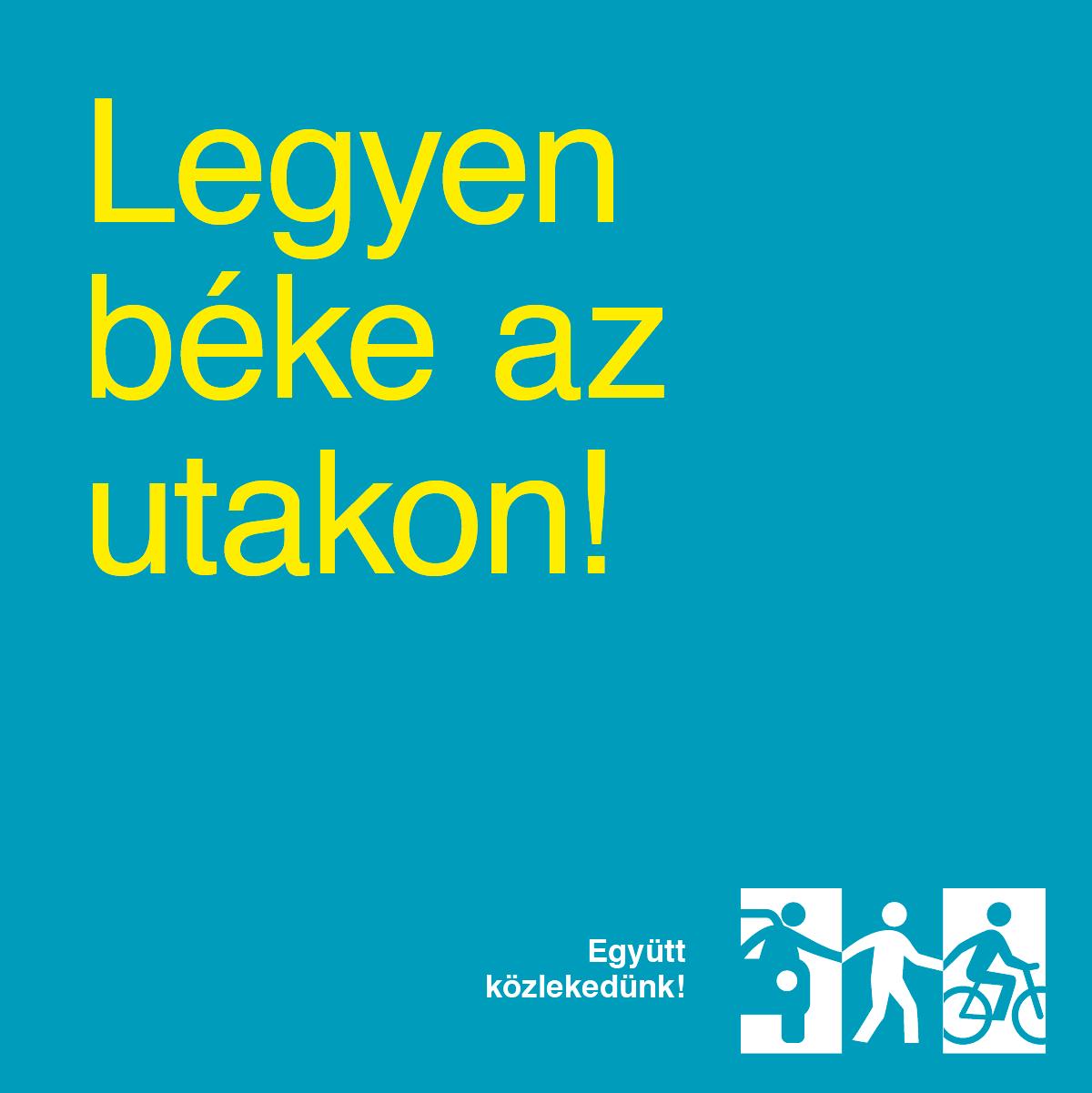 Együtt Közlekedünk! - Közlekedésbiztonsági kampány nem (csak) kerékpárosoknak