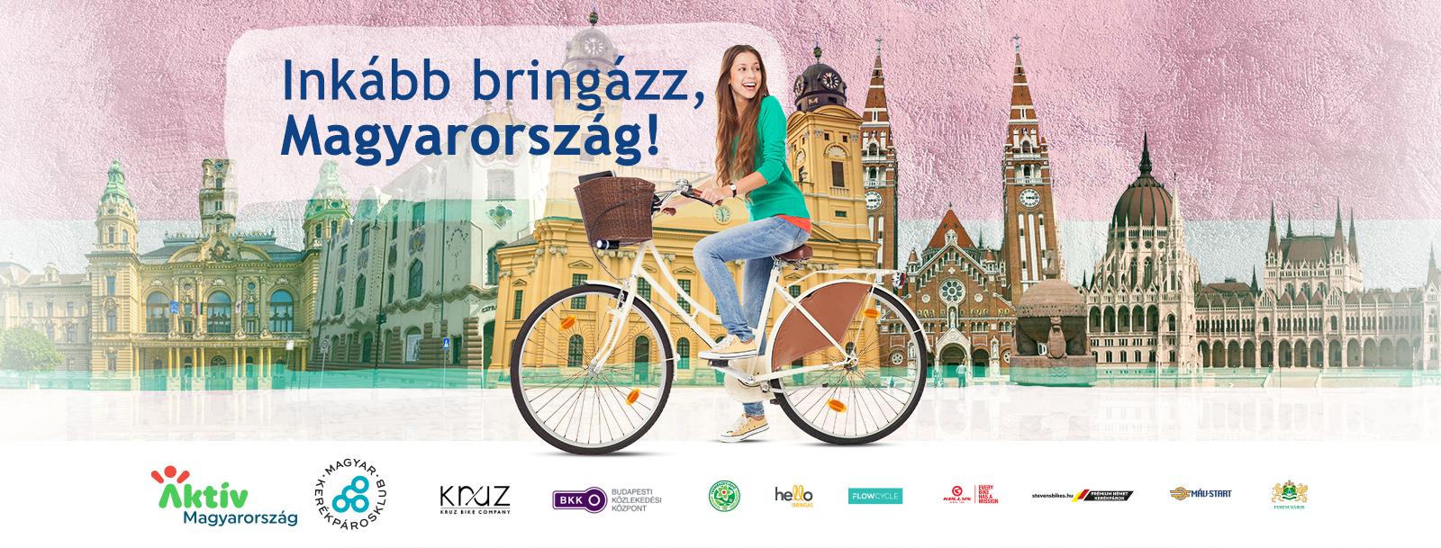 Inkább bringázz, Magyarország!