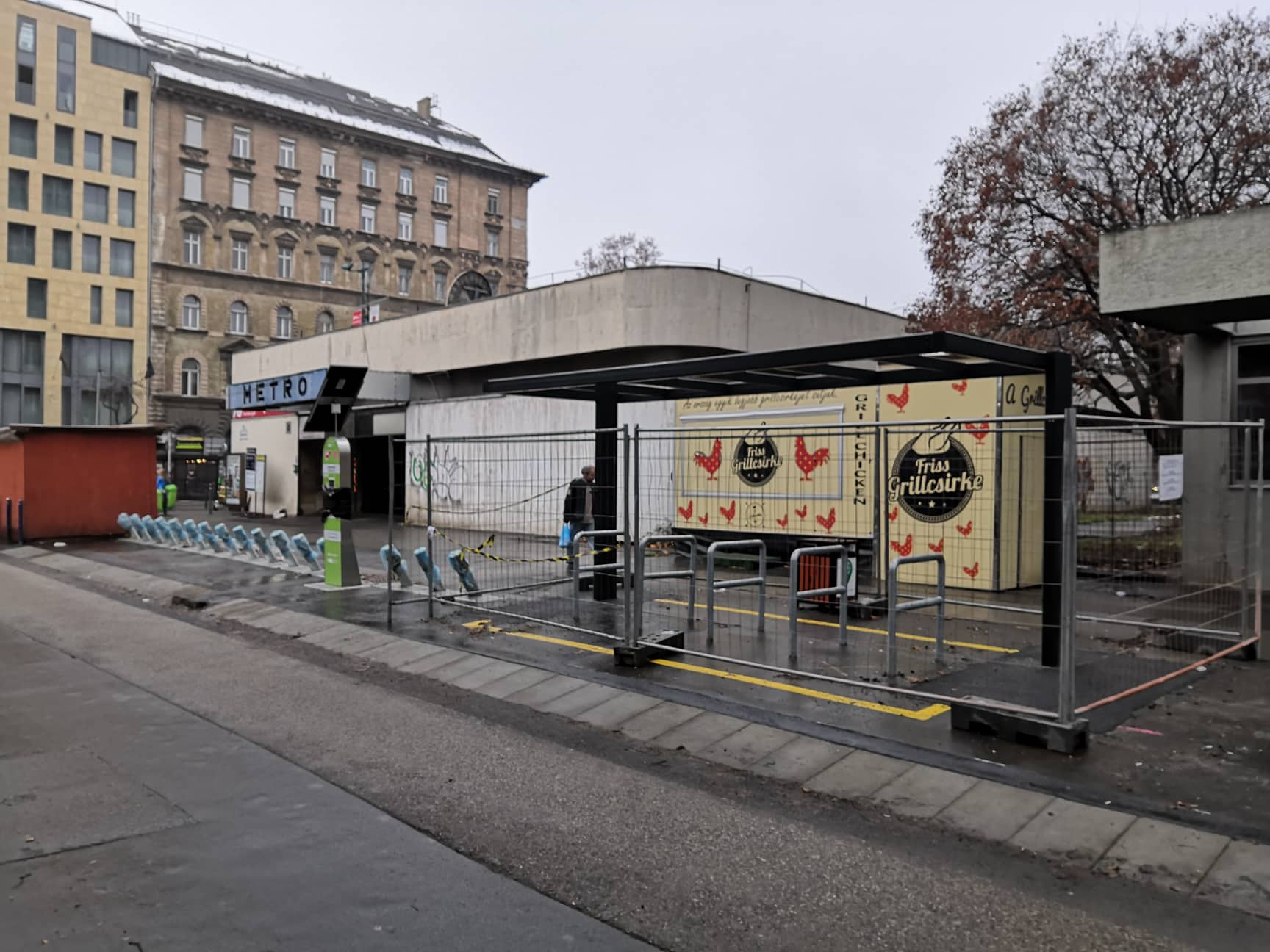 B+R kerékpártárolók épülnek metró és HÉV állomásoknál - 11 éve kezdeményeztük