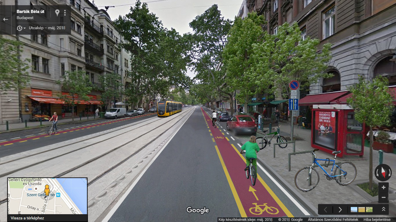 Miért óriási hiba, ha mégsem lesznek kerékpársávok a Bartók Béla úton?