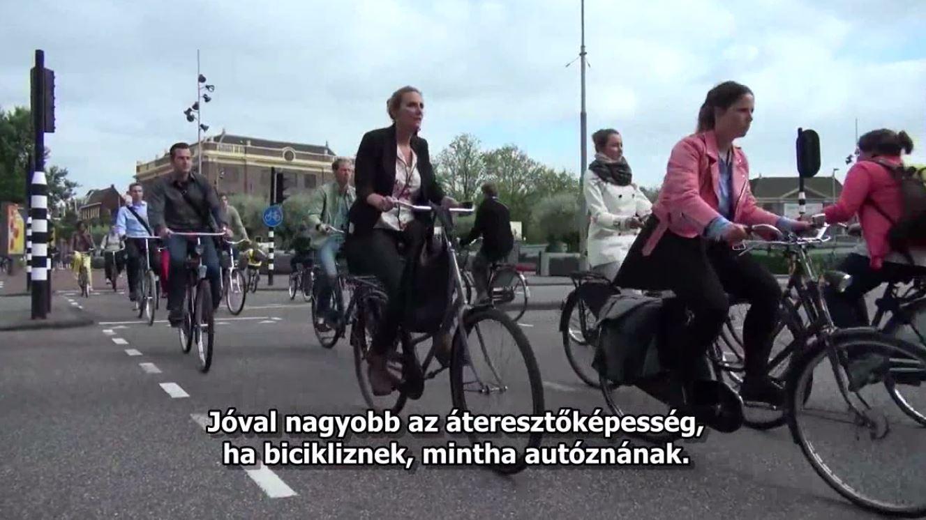 Így lett bringás város Amszterdam