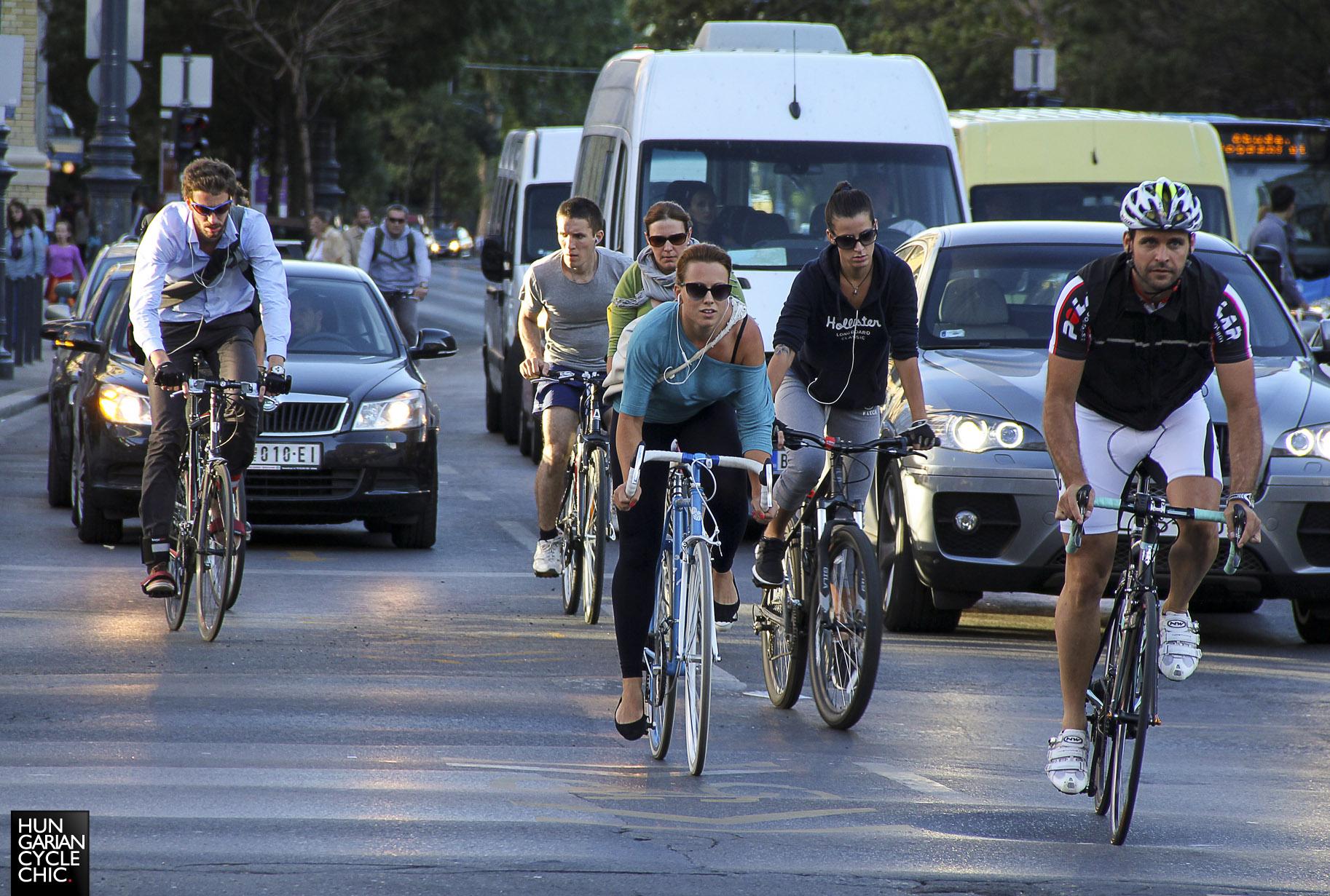 Húsz év alatt megtizenegyszereződött a bringázók száma Budapesten