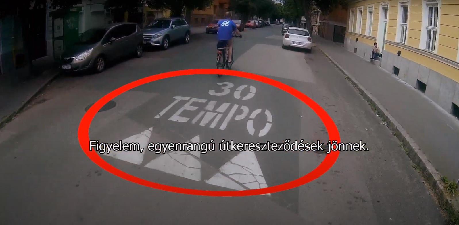 Virtuális Bebiciklizés: Videók és térkép a forgalomban kerékpározáshoz