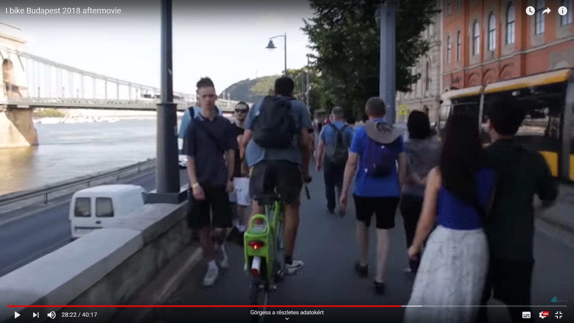 """A dunaparti """"bringasztráda"""" és a gyalogosok """"ellentéteiről"""" adtunk elő a Budavári Önkormányzatban"""