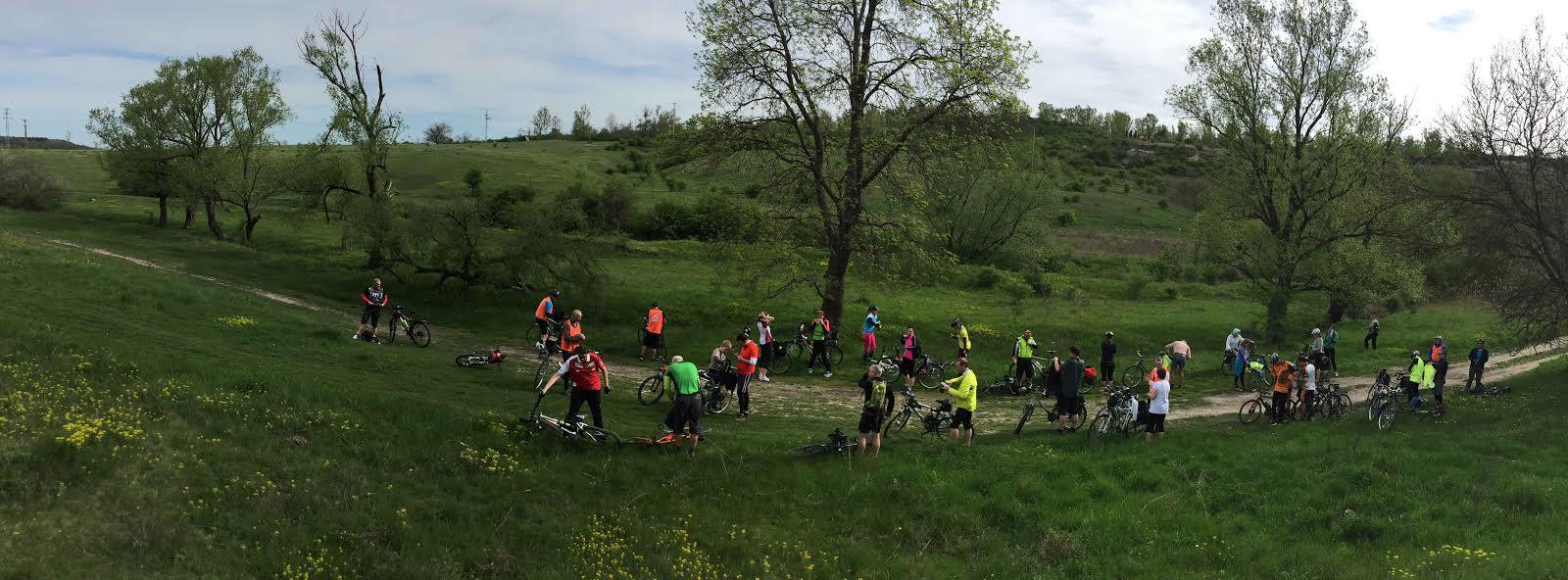 Szezonnyitó Kerékpárosklub túra Etyekre