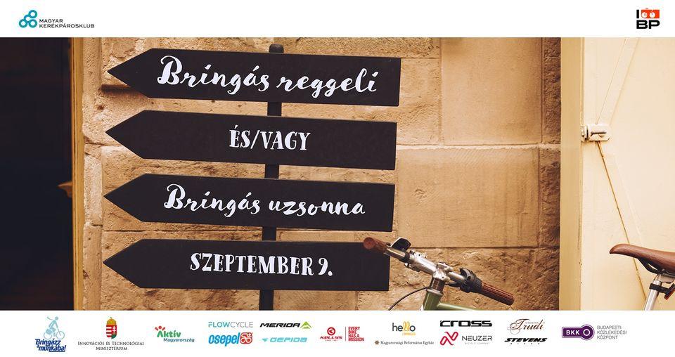 Szeptember 9-én bringás reggelivel és uzsonnával várunk az ország 40 pontján
