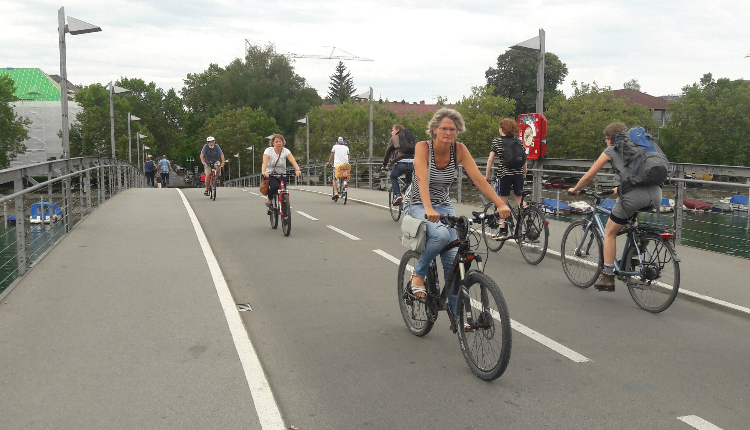 Városi és szabadidős biciklizés – pozitív példák német nyelvterületről