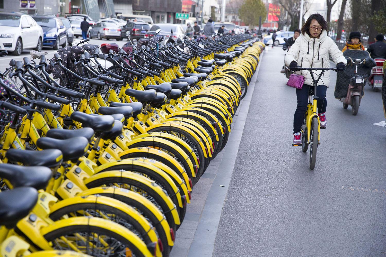 Kína dokkoló nélküli közbringás városaiban két év alatt megduplázódtak a kerékpáron megtett kilométerek
