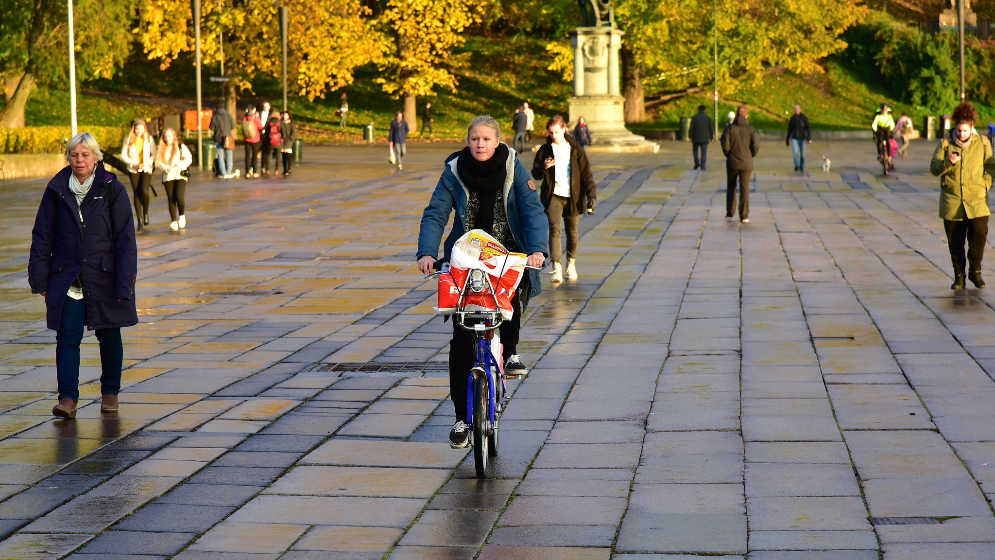 Egyetlen gyalogos vagy kerékpáros sem halt meg közlekedési balesetben Oslo városában 2019-ben