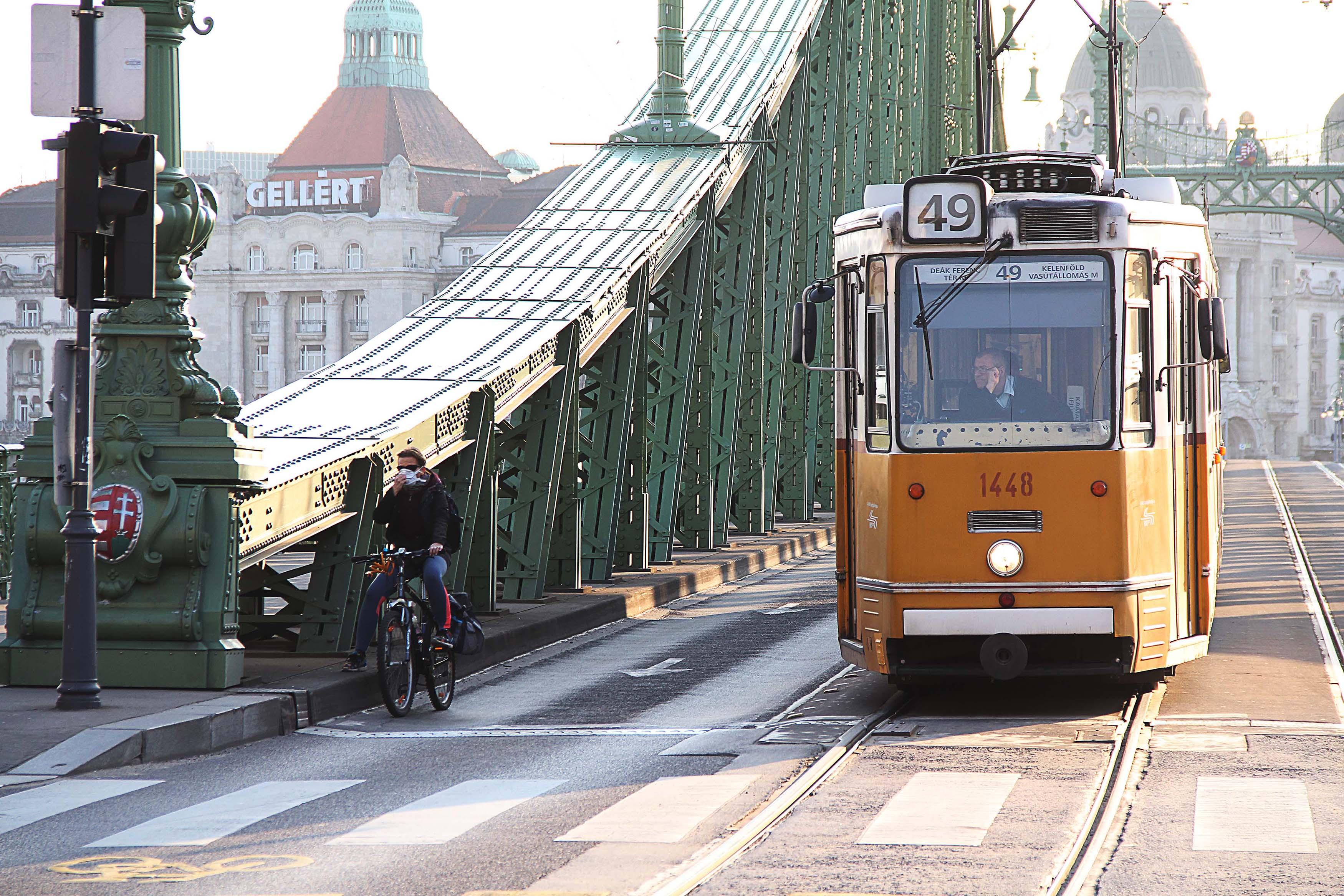 Rendkívüli budapesti kerékpáros fejlesztéseket a rendkívüli helyzetben!