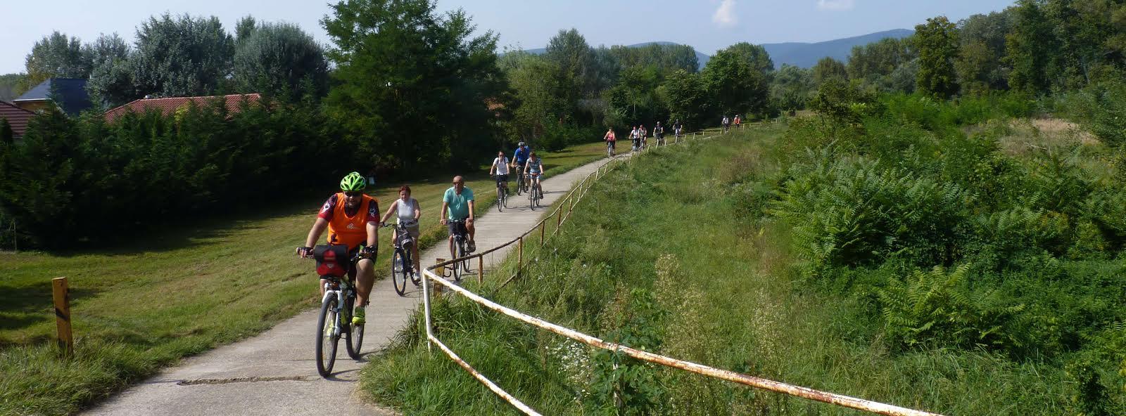 Kerékpártúra a Vácrátóti Arborétumba