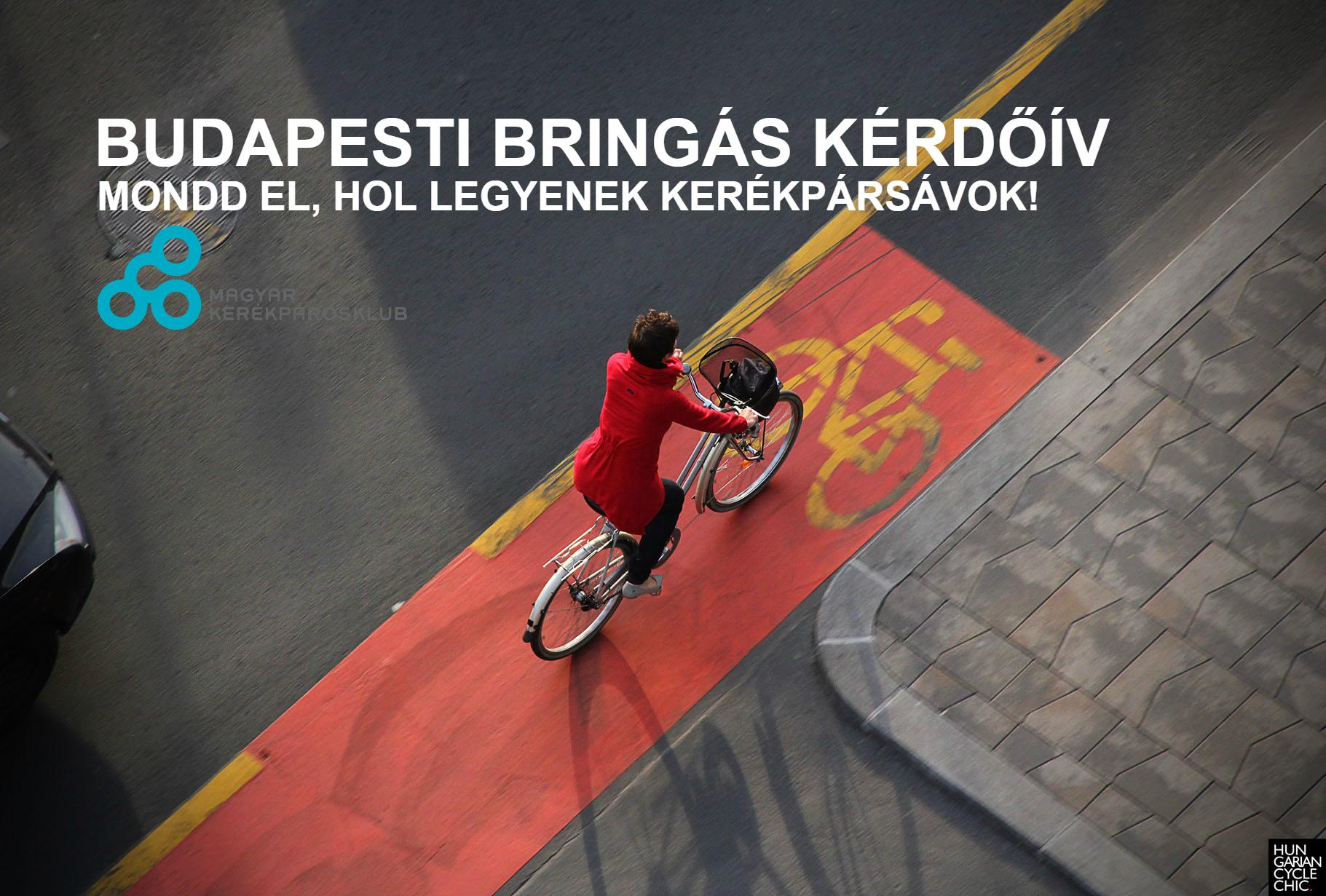 Szólj bele a budapesti kerékpáros fejlesztésekbe, töltsd ki kérdőívünket!