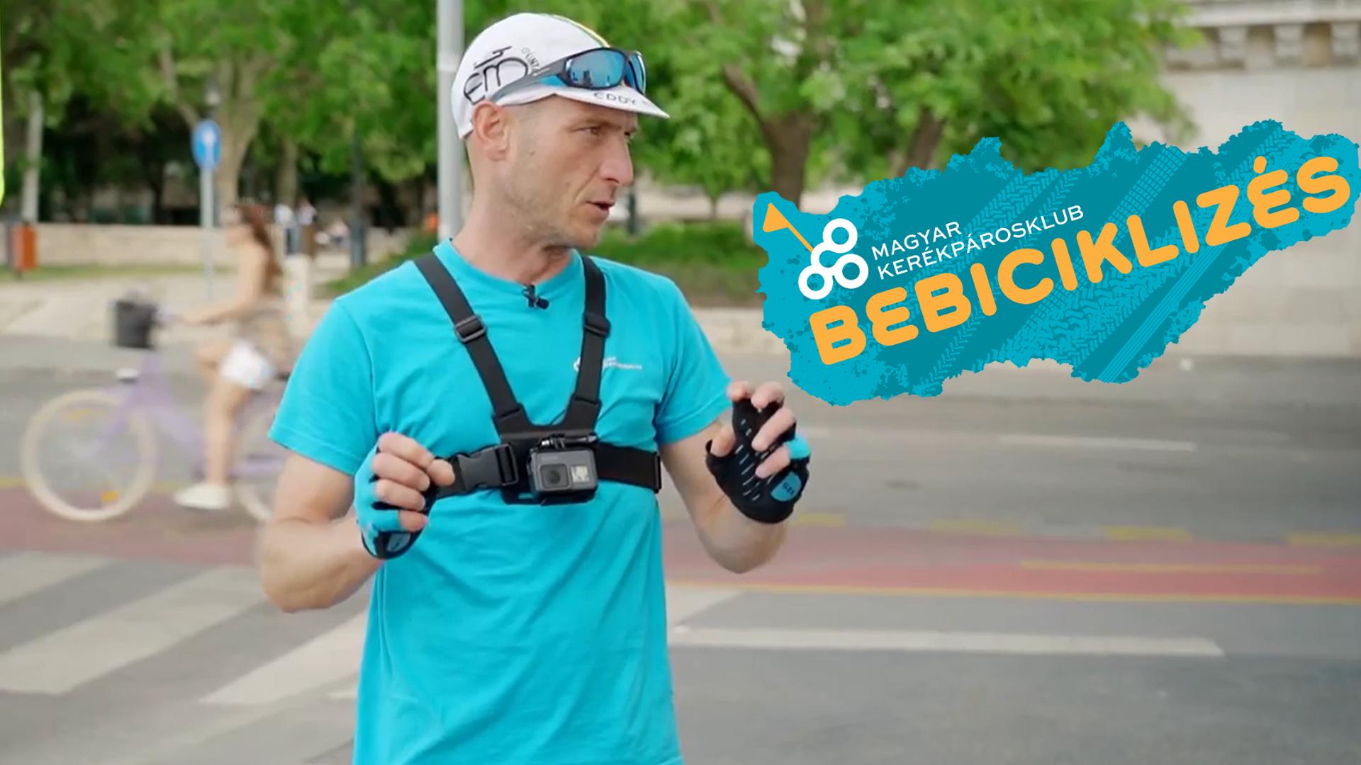 Virtuális Bebiciklizés: Videós és térképes tanácsok a forgalomban kerékpározáshoz